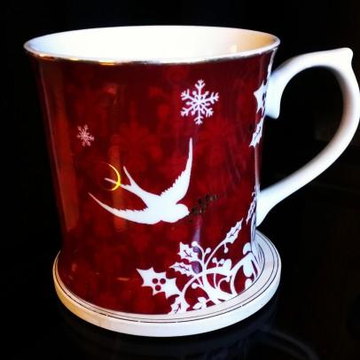 My mug. Not yours. Mine.